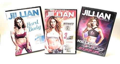 The Jillian Michaels Hardbody Collection - 3 DVD Set