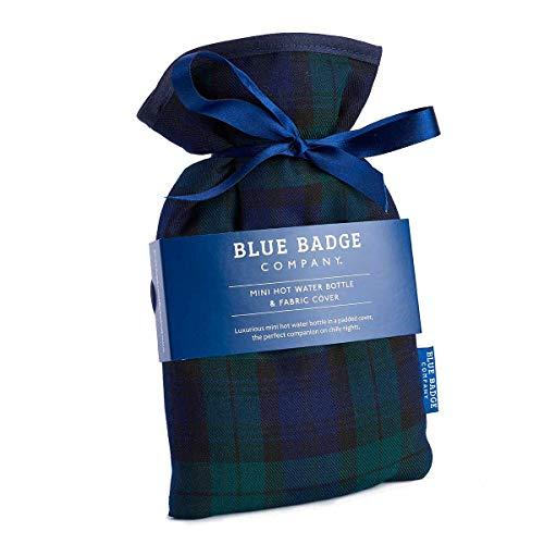 Blue Badge Company Black Watch Tartan Mini Kordelzug Wärmflasche und gepolsterter Bezug