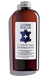 Leather Rescue Conditioner and Restorer for Car Seats and Jackets