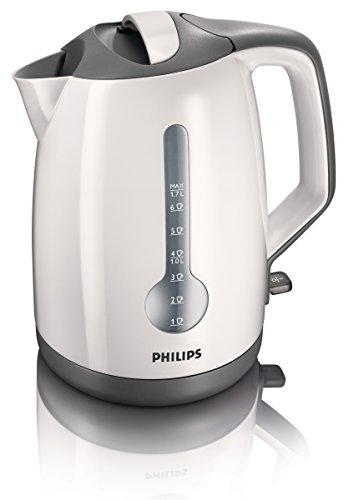 Philips Energy Efficient 1.7L 3Kw Kettle In White