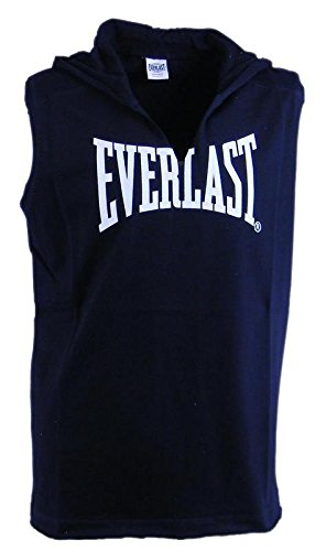 Everlast Chaleco con capucha Gym Gear Base, azul marino (Blue Navy 4000), XXL