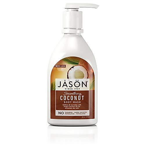 jason neem oils JĀSÖN Jason Natural Body Wash Shower Gel Smoothing, Coconut, 30 Fl Oz