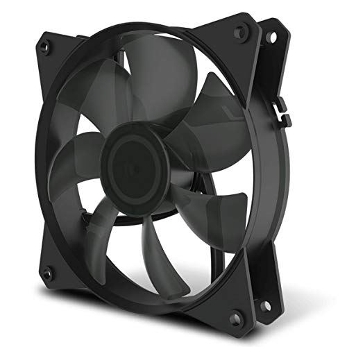 Cooler Master MasterFan MF120L niet-led-behuizing Ventilator '7 bladeventilator, stille koelingstechnologie, 120 mm' R4-C1DS-12FK-R1