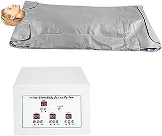 Sauna Blanket, Far Infrared Khan Steam Blanket Safety Heating Blanket Body Shaper Weight Loss Machine, Professional Detox ...