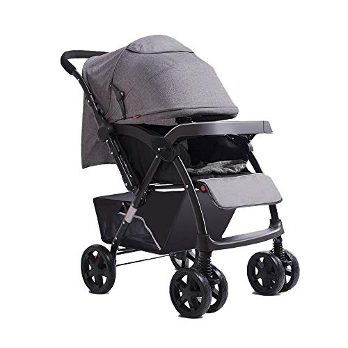 Purchase Two-Way Baby Stroller 0-3 Years Old Lightweight Folding Shock-Absorbing Sit-Lay Simple Chil...