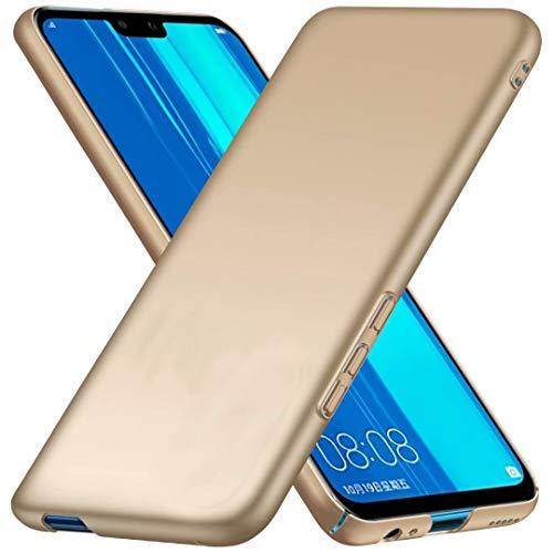 TenDll Funda para HuaweiNova8Pro4G,Nueva Cubierta Delgado Caso PC Back Cases Cover para HuaweiNova8Pro4G -Golden