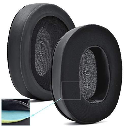 SHOTAY Auriculares Almohadillas para los oídos Almohadillas Esponja Cojín de Espuma Suave para-Logitech G35 G332 G533 G633 G933 G935 G-Pro G433 Auriculares Negro