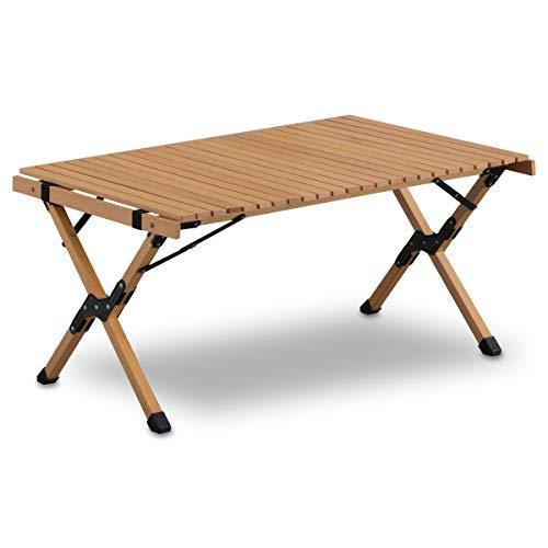 ウッドロールトップテーブル 90 口コミ