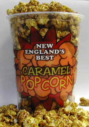 New Caramel Popcorn Containers