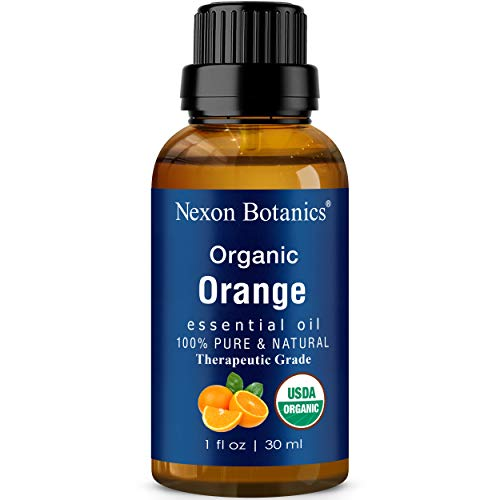 Organic Orange Essential Oil 30ml - Made in USA -...