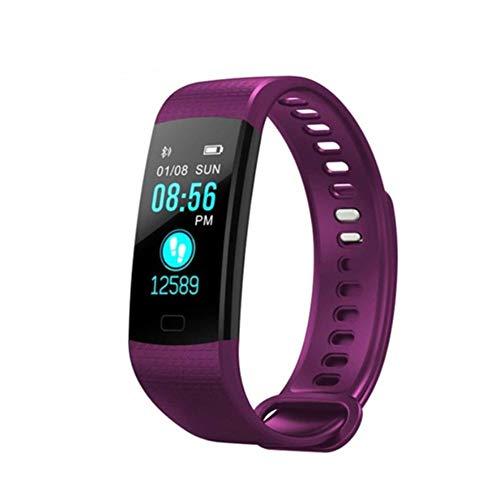 Fitness Armband Uhr mit Pulsmesser Wasserdicht Fitness Tracker Aktivitätstracker Pulsuhren Bluetooth Smart Armbanduhr für Kinder Damen Männer