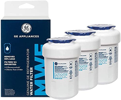 GЕ MWF GE Refrigerator Water Filter GE MWF water filter replacement 3-Pack, White