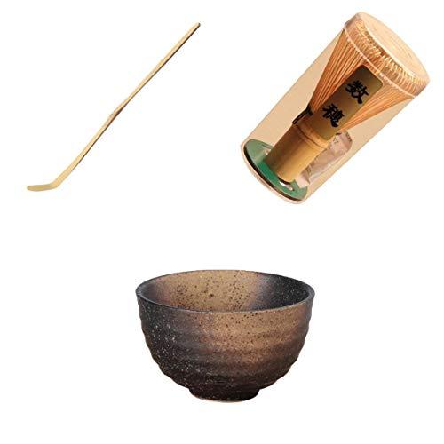 3 Unids Chasen Kit Bamboo Matcha Tea Whisk Teascoop Cucharadita Te Japones