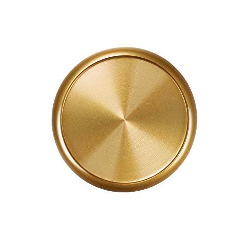 Eleven Discs 1-Inch Gold Aluminum Discs for Discbound Notebooks (Set of 11)