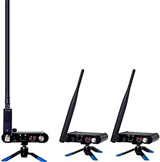 Wi DIGITAL Wi-AMP50X8 Wi Pro AudioMatrix 2.4GHz Stereo Digital Multicast Wireless Audio System w/ 800mW Powered Antenna