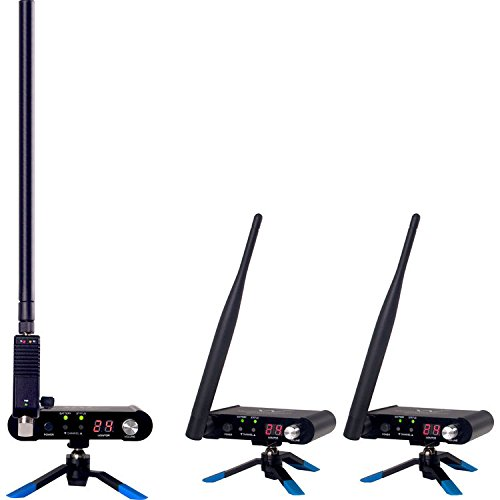 Wi DIGITAL Wi-AMP50X8 Wi Pro AudioMatrix 2.4GHz Stereo Multicast Wireless System w/ 800mW Powered AntennaINCLUDES 2 PADDLES