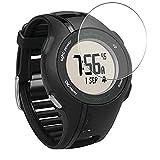 Vaxson 3-Pack Vetro Temperato Pellicola Protettiva, compatibile con GARMIN Approach S1 Smart Watch, 9H Screen Protector Film Nuova Versione