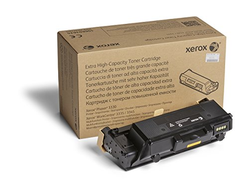 Xerox Phaser 3330/Workcentre 3335/3345 Black Extra High Capacity Toner Cartridge (15,000 Pages) - 106R03624