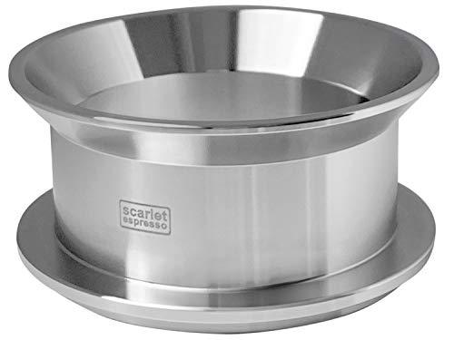 scarlet espresso | Präzisions-Trichter »Barista Cono Forte 58 mm« aus Edelstahl für Siebträger, Dosing Funnel Fülltrichter für Kaffeemehl