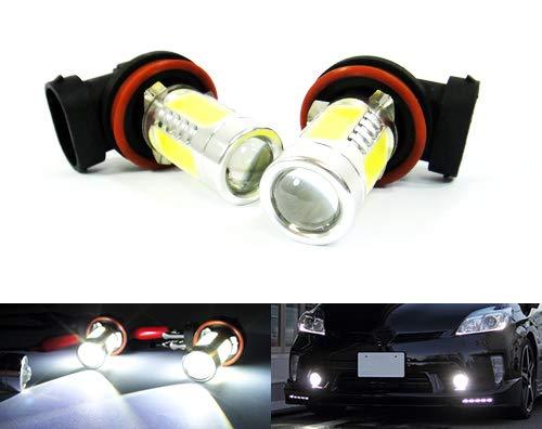RZG Lot de 2 ampoules LED H11 H8 pour feux de position, feux de circulation diurnes et antibrouillard Blanc