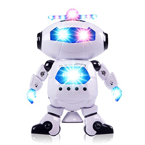 CifToys Boys Toys Electronic Walking Dancing Robot Toy - Toddler Toys - Best Gift for Boys and Girls 3 Years Old