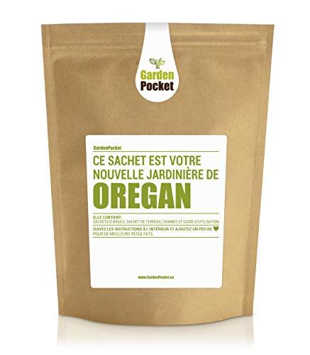 Garden Pocket - Kit de culture d'herbes aromatiques OREGAN - Sac de pot de fleur