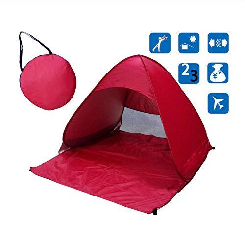 Carpa De Playa Carpa Plegable Ultraligera Carpa Emergente AutomáTica Carpa De Viaje Familiar Camping para Peces Anti-UV