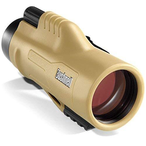Bushnell 10x42mm Legend ED - Monocular con retícula Mil-Hash, amarillo