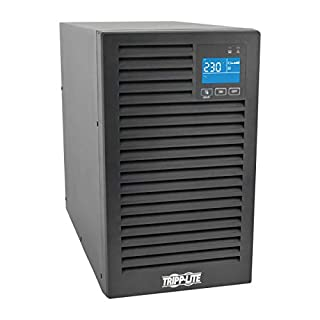 TRIPP LITE SmartOnline Series 2000VA 1800W On-Line Double-Conversion UPS, Extended Run, Network Card Options, LCD, USB, DB9, Tower,SUINT2000XLCD (B06ZZWZYC6) | Amazon price tracker / tracking, Amazon price history charts, Amazon price watches, Amazon price drop alerts