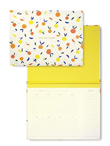 Kate Spade New York Undated Weekly Planner Pad, Personal Organizer Meal...