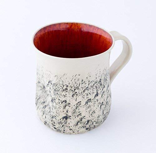 Red handmade mug Super beauty product restock quality top Large coffee cup Max 86% OFF tea Mug Cappuccino