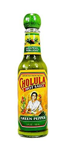 Cholula Hot Sauce Green Pepper, 1 Count (SAUCES)