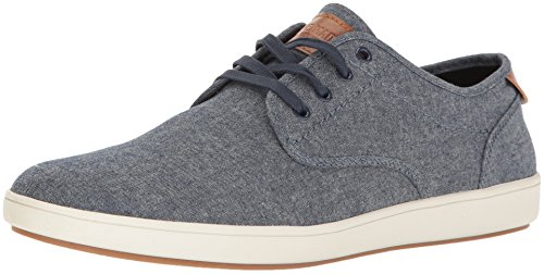 Steve Madden mens Fenta Fashion Sneaker, Blue Fabric, 9.5 US