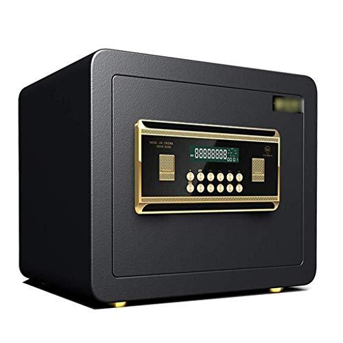 LIUPENGWEI Safe, Digital-elektronischer Safe For Home Office 30cm Mit 2 Notfall Keys, An Der Wand Befestigten Schrank Safe Security Box Anti-Diebstahl-intelligente Alarmanlage Feuersicher Sûr