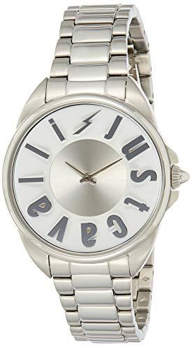 Just Cavalli Reloj Analogico para Mujer de Cuarzo con Correa en Acero Inoxidable JC1L008M0065