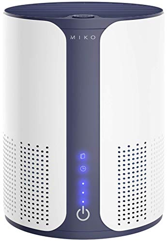 LEVOIT Air Purifier for Home Bedroom, Available for California, Dual H13 HEPA Filter Remove 99.97% Dust Mold Pollen Pet Dander, Desktop Air Cleaners for Smoke, Odor with Aromatherapy, 100% Ozone Free