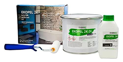 Ekopel 2K Bathtub and Tile Refinishing Kit