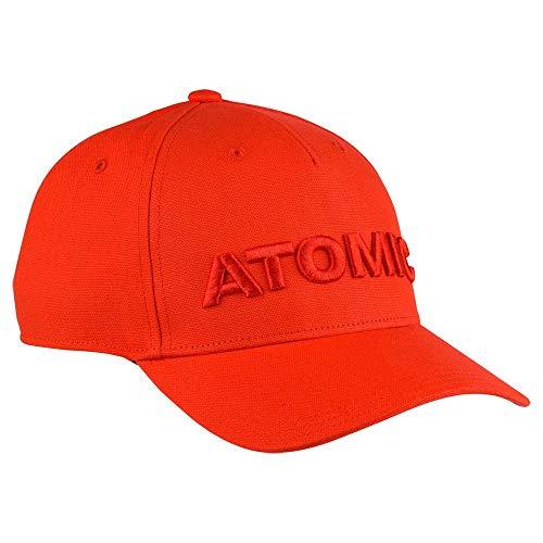 Atomic Racing Cap - Unisex Erwachsene Kappe Einheitsgröße Flame Scarlet