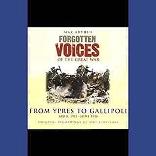 From Ypres to Gallipoli audiobook cover art