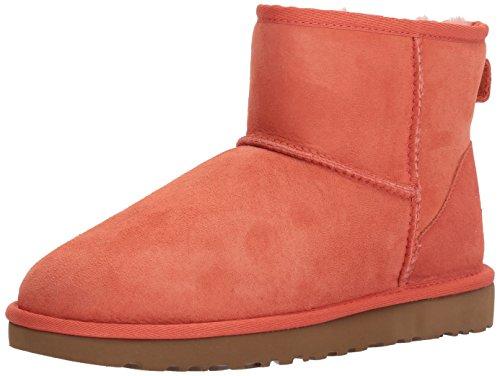 UGG Damen Mini Classic Hohe Sneakers, Vibrant Coral, 36 EU