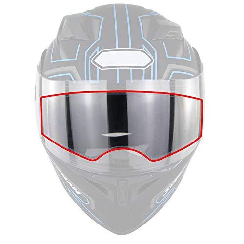 Henreal Helm, anticondens-film, voor motorfietsen, lens, vizier, waterdichte beschermfolie, stickers