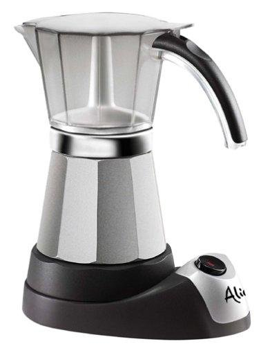 Best Price EMK6 Alicia Electric Moka Espresso Coffee Maker