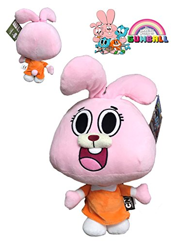 GMALL El Asombroso Mundo de Gumball - Peluche Anaïs Personaje Rosa 12