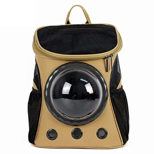 SYC rugzak voor huisdieren, goedgekeurd door Compagnia Aerea voor reizen met luchtbellen, stopcontacten, multiple, lichte tas voor katten, Een