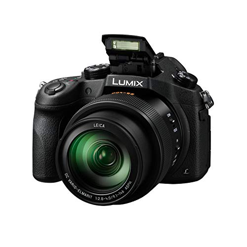 PANASONIC LUMIX FZ1000 4K Point and Shoot Camera, 16X LEICA DC Vario-ELMARIT F2.8-4.0 Lens, 21.1 Megapixels, 1 Inch High Sensitivity Sensor, DMC-FZ1000 (USA BLACK) (Renewed)