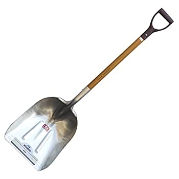 Super Tuff - The Ultimate Shovel - Forest Hill Manufacturing Aluminum Straight Edge Scoop Shovel  .125 Thick Aluminum 52-Inch