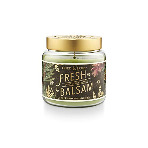 Tried & True Tried and True Fresh Balsam Large Jar, 15.5 oz. Candle, Multi-Color