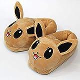 Zapatillas Pokemon Mascota Elfo Kabi Bestia Jeni Tortuga Pikachuybe Zapatillas Para Niños Invierno Zapatos De Algodón Interior Zapatos Calientes