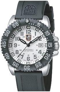 Luminox - 3157 - Reloj de Caballero de Cuarzo, Correa de Caucho Color Negro