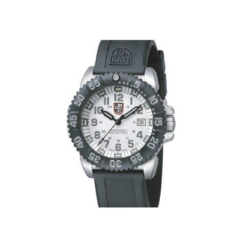 Luminox 3157 - Reloj de Caballero de Cuarzo, Correa de Caucho Color Negro